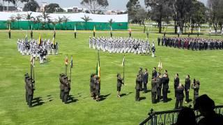 Ceremonia de admisión de cadetes Escuela de Policías Gral. Santander 2014