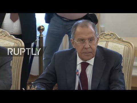 LIVE: Lavrov and Qatari FM meet in Moscow - Meeting protocol