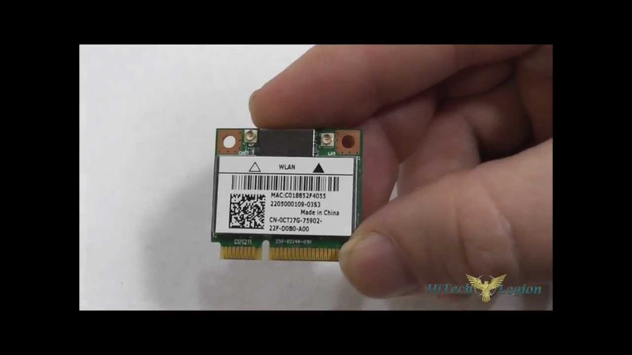 Killer Wireless-N mini PCIe 1202 NIC Overview + Benchmarks + Installation
