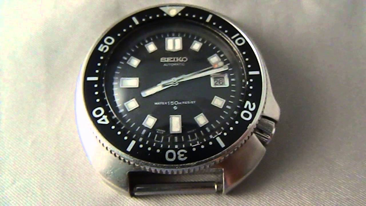 Vintage glycine divers watch