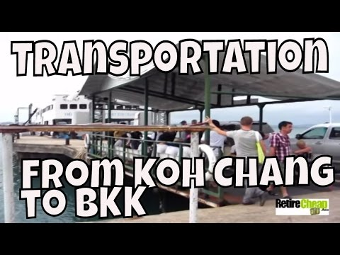 Getting from Koh Chang to Pattaya or Suvarnabhumi Bangkok Airport Efficiently and Affordably