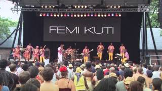 femi kuti positive force 2013 summerstage concert series full