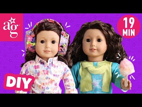 The Best Doll DIY Accessories | Doll DIY | @American Girl