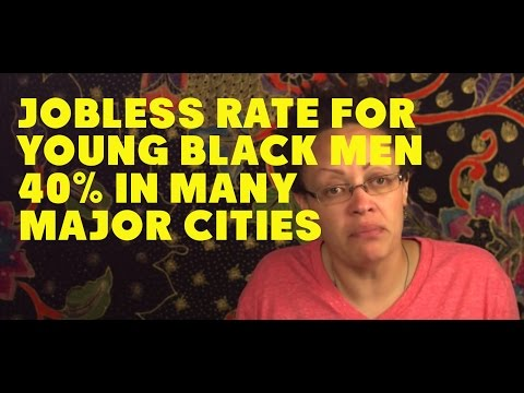 Young Black Men Unemployed at 40 Percent in Many Cities 3/08