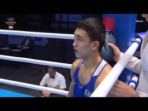 Казахстанский боксер избил узбека за лицензию на Олимпиаду-2020