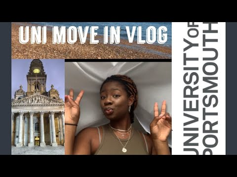 MOVING To Uni VLOG || University Of Portsmouth