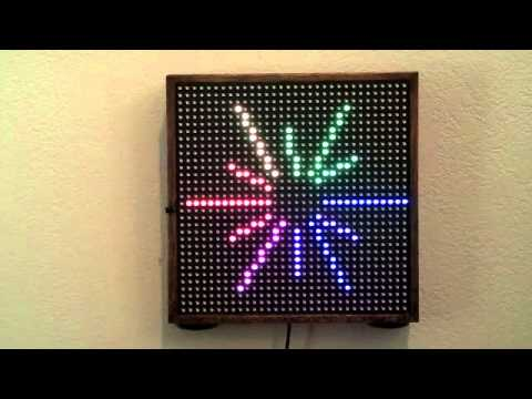 Light Appliance - Remote Controlled 32x32 RGB LED Matrix