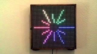 Light Appliance - Remote Controlled 32x32 RGB LED Matrix