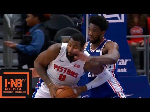 Philadelphia Sixers vs Detroit Pistons 1st Half Highlights | 10.23.2018, NBA Season