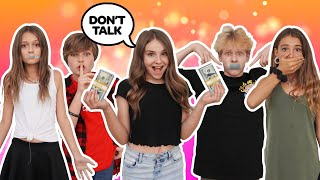 LAST TO SPEAK WINS $10,000 CHALLENGE **MY CRUSH EXPOSED** 🙊🤐| Piper Rockelle