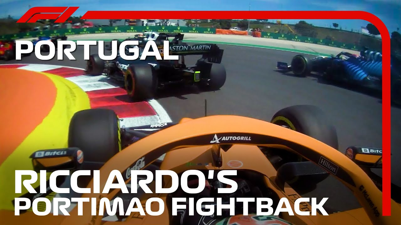 Download Daniel Ricciardo's Fightback Through The Field | 2021 Portuguese Grand Prix