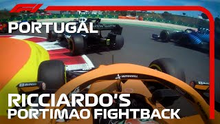 Daniel Ricciardo's Fightback Through The Field | 2021 Portuguese Grand Prix