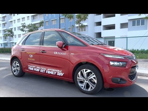 2017 Citroën C4 Picasso THP Exclusive Start-Up and Full Vehicle Tour