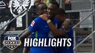 Eintracht Frankfurt vs. VfL Wolfsburg   2017-18 Bundesliga Highlights
