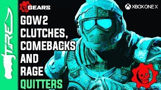 GOW2 CLUTCHES, COMEBACKS AND RAGE QUITTERS! - Gears of War 2 Multiplayer Gameplay w/ LANDAN (2019)