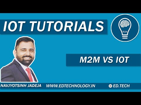 M2M Vs IoT | Difference And Similarities In M2M & IoT | Internet Of Things Tutorial