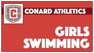 Conard Varsity Girls Swimming vs. Farmington - October 12, 2021