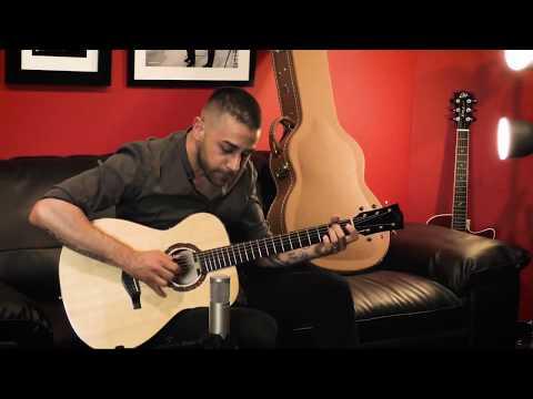 Eko Guitars: Pierangelo Mugavero Suona La WOW Spruce/Cocobolo