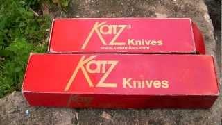 Ножи Katz Kagemusha и Katz Alley Kat