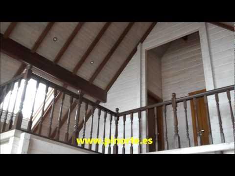 Pinorte n 27 pontevedra 2009 casas de madera youtube - Casas de madera pontevedra ...