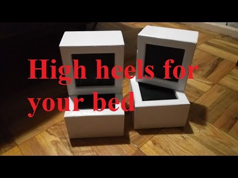 Bed Risers Cheap And Easy Diy Youtube