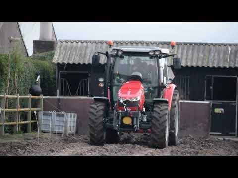 Massey ferguson 5608 Noordwijkerhout Holland