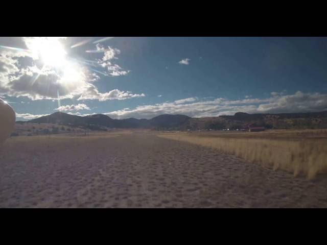 Land @ La Garita Ranch runway 27