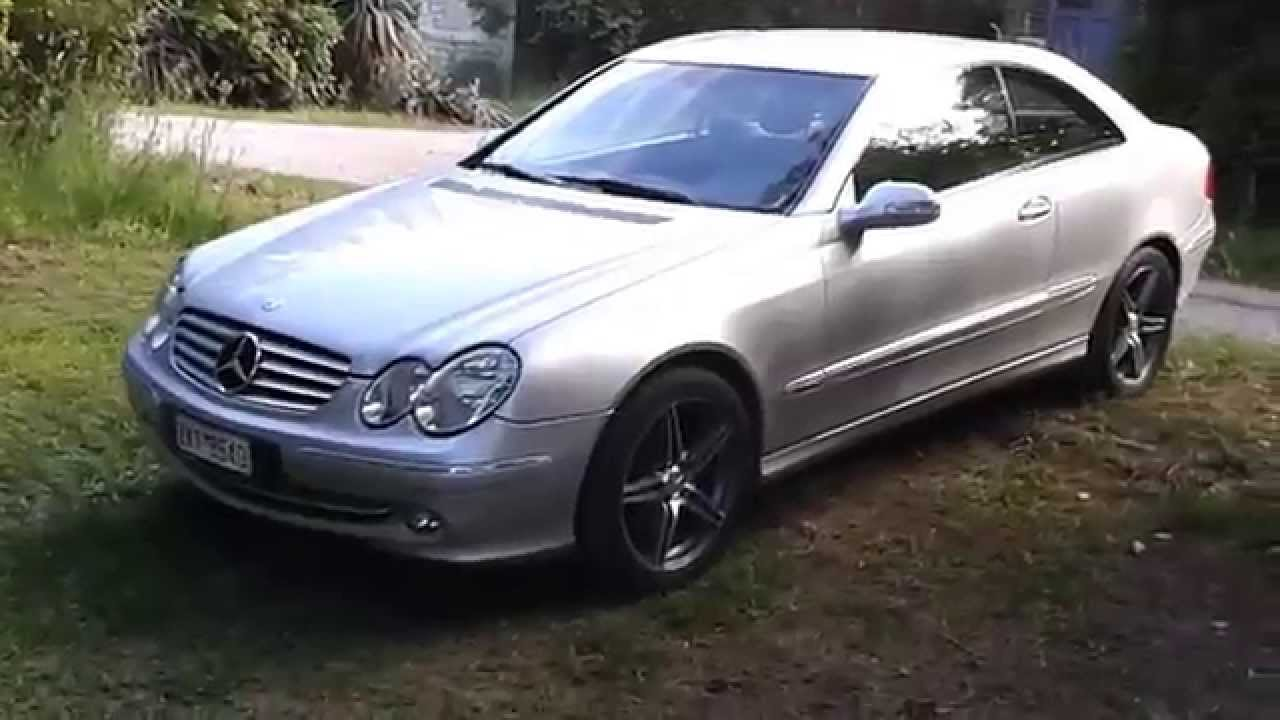 mercedes clk 200 w209 youtube. Black Bedroom Furniture Sets. Home Design Ideas