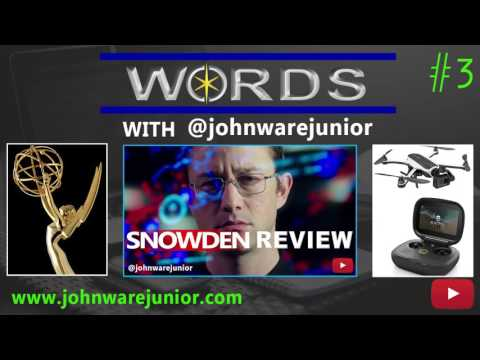 Words with John Ware Junior Episode 3 | Is Edward Snowden a Hero or Traitor? (Audio)