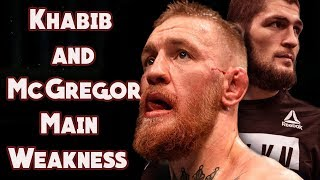 Khabib and Conor Main Weakness (Мcgregor vs Кhabib detailed analysis from expert)