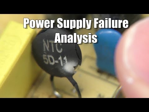 12 Volt Power Supply Failure Analysis