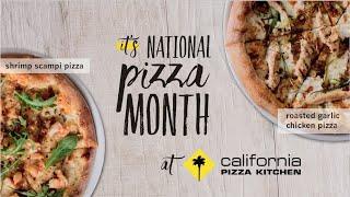 California Pizza Kitchen: National Pizza Month 2015