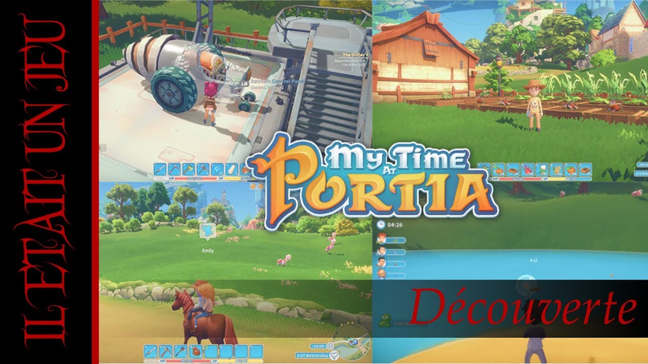 Il était un jeu ... MY TIME AT PORTIA