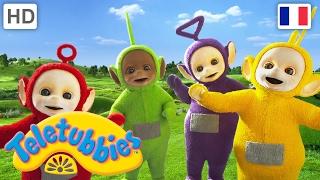 Les Teletubbies en franais  2017 HD  Attends un peu  Animated cartoon