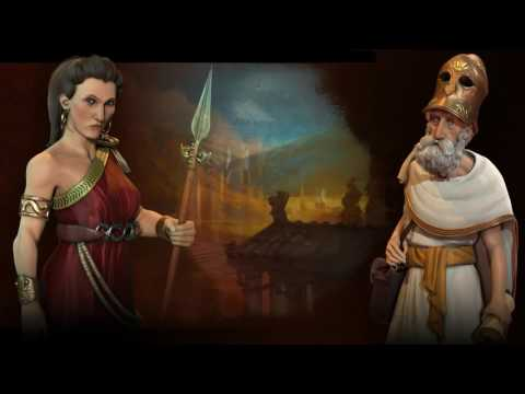 Greece Theme - Atomic (Civilization 6 OST) | Epitaph of Seikilos