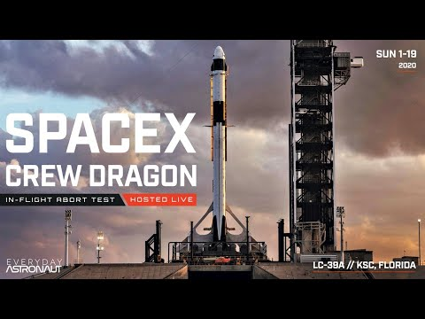 Watch SpaceX Destroy A Rocket And Abort In-Flight LIVE!!!