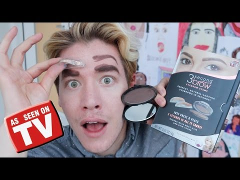 TRYING EYEBROW STAMPS!