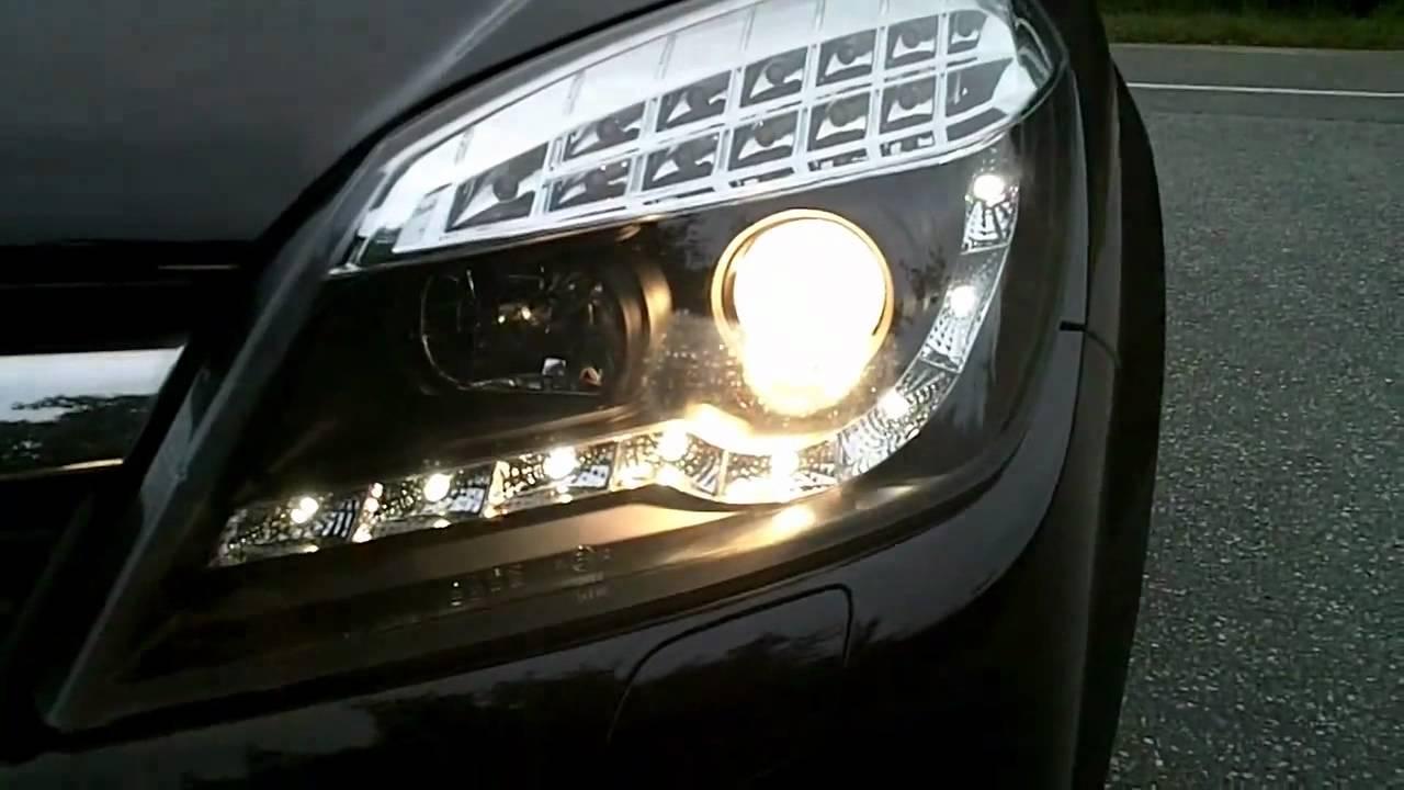 Tuningov 233 Devil Eyes Svetl 225 Na Opel Astra H Www