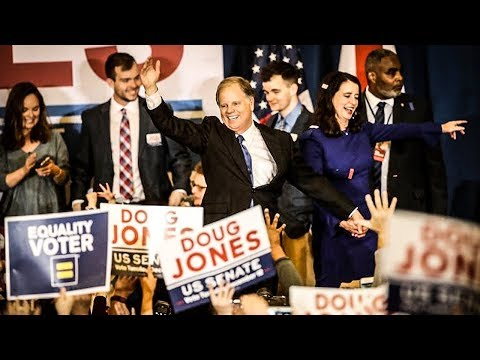 Watch The Moment Doug Jones Supporters Found Out He WON The Election