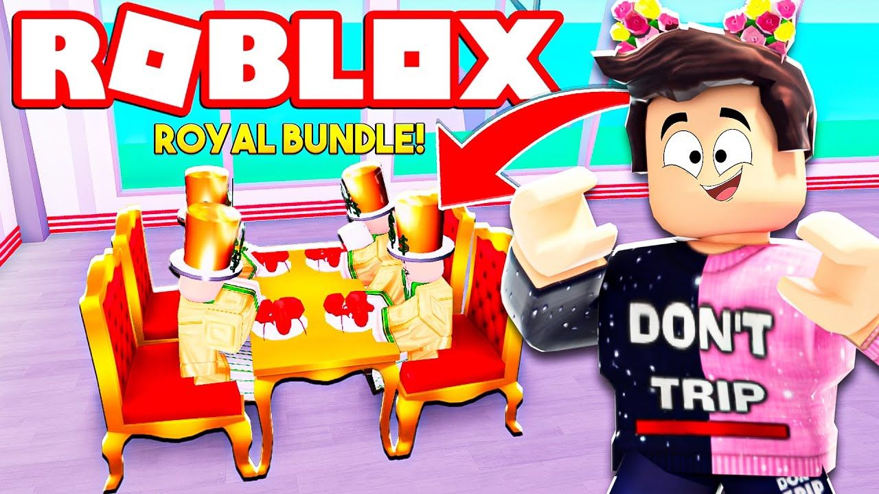 BUYING the *EXPENSIVE* ROYAL BUNDLE in My Restaurant! (Roblox)