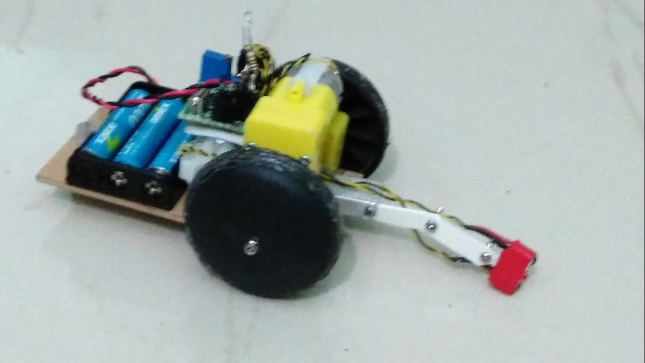 How to make a simple obstacle and edge avoiding robot car for Simple edge