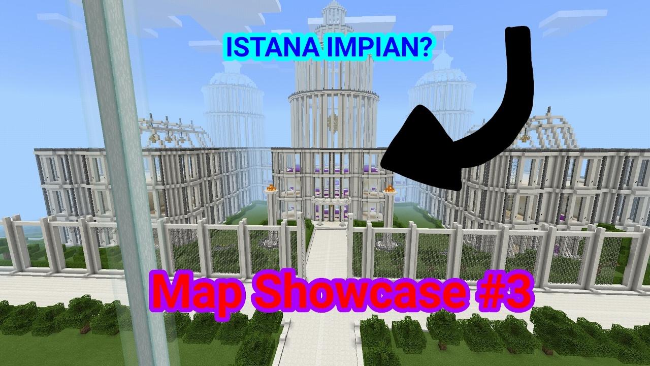 Istana Impian F F  B Minecraft Map Showcase  Rinerial_palace