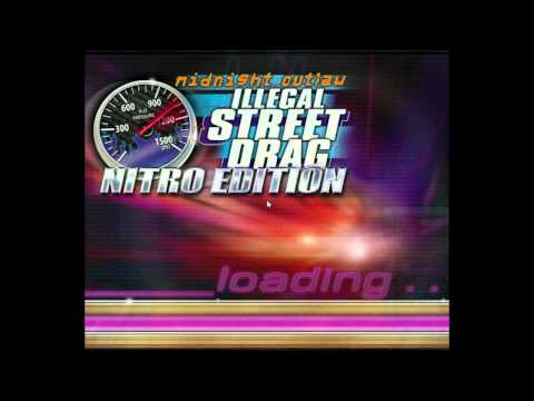 Lets Play Midnight Outlaw Illegal Street Drag Nitro Edition EP1