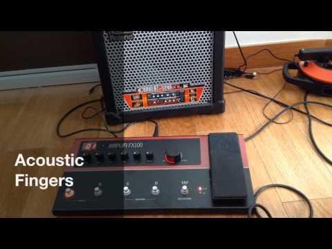 Amplifi FX100 demo