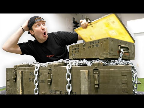 Spending $10,000 On Abandoned Military Crates