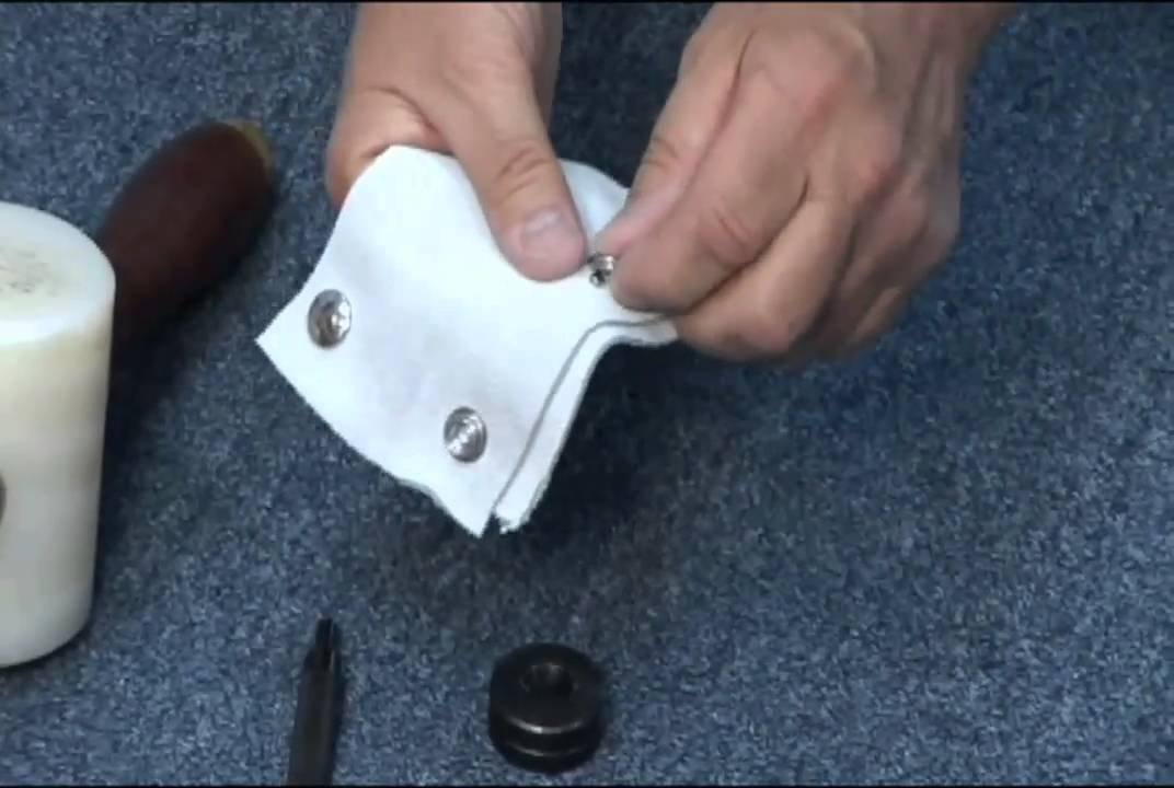 Snap Fastener Deluxe Installation Tool