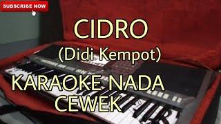 Gambar cover Cidro(didi kempot) Karaoke Nada Cewe Dangdut Koplo