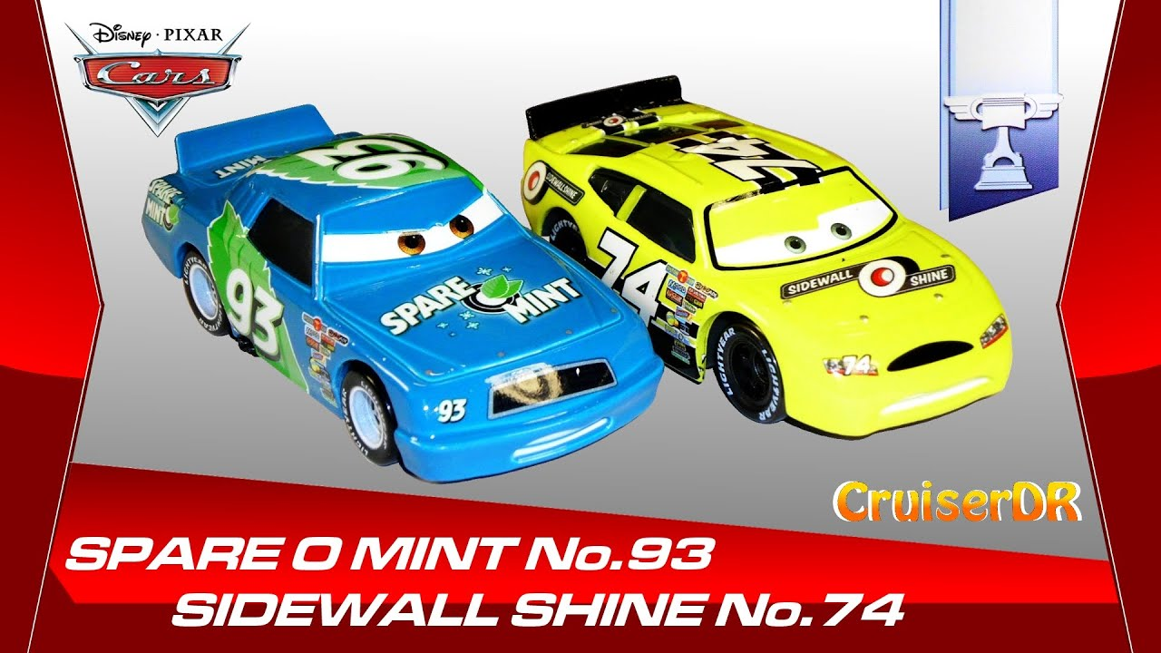 Disney Pixar Cars 2014 Dicast Sidewall Shine No 74