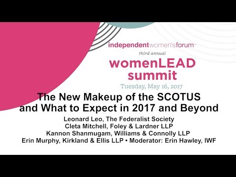 WomenLEAD: The New Makeup of SCOTUS and What to Expect in 2017
