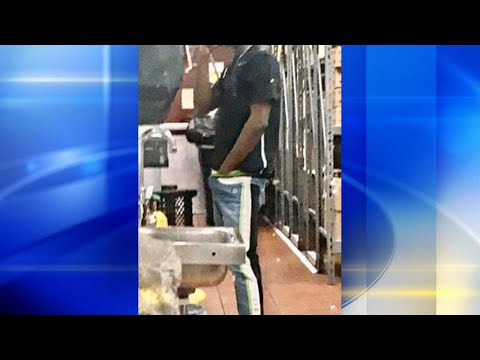 Brother Wease - Philly McDonald's Worker Caught with Both Hands Down Front of Pants